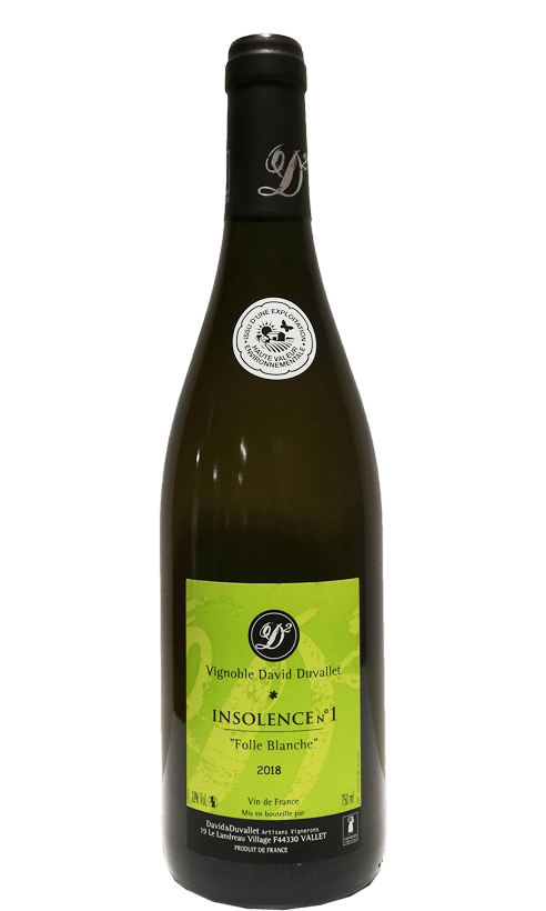 Domaine David & Duvallet Insolence n°1 Folle Blanche