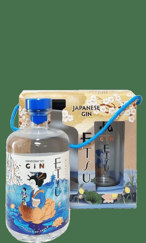 Etsu Japanese Gin + verre